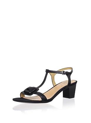 Mark + James Women's Roslin Mid-Heel Sandal (Black)