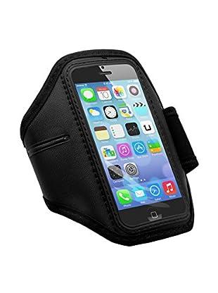 UNOTEC Armband iPhone 5 / 5S schwarz