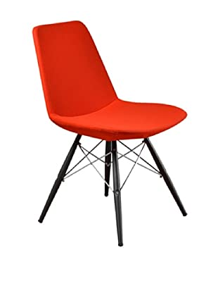 Aeon Furniture Paris 5 Side Chair, Set of 2, Orange