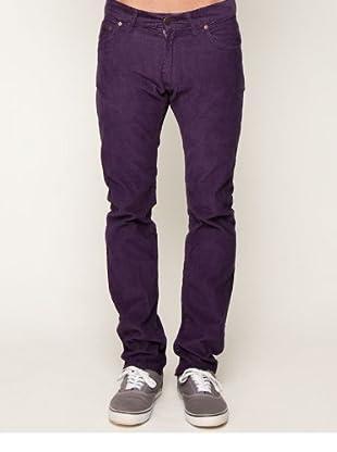 Springfield Casual Cordhose violett Cordhose violett 42