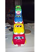 Fisher Price Nesting Action Vehicles Stacking Cars