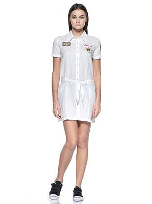 Vestido Camisero Faustine (Blanco)