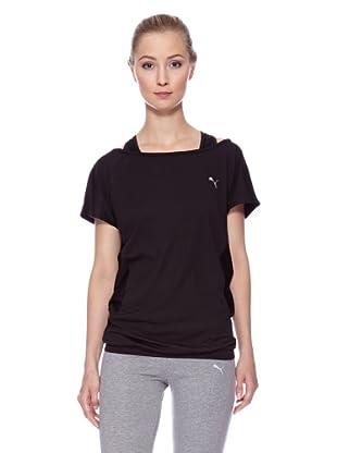 PUMA T-Shirt TP Trend (Schwarz)