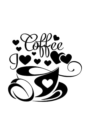 Ambiance Sticker Wandtattoo I Love Coffee