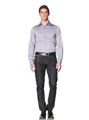 Calvin Klein Collection Men's Marianna Dress Shirt (Grey)