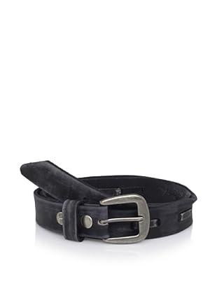 Bed Stu Women's Sparrow Stich Belt (Black)