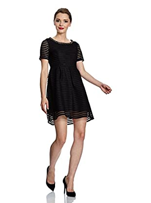Yumi Kleid Striped Mesh