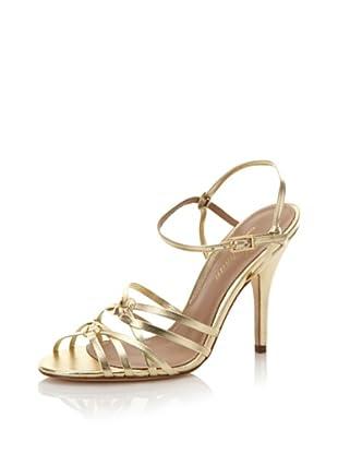 Delman Women's Ellie Sandal (Gold)