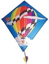 In the Breeze Hot Air Balloon Diamond Kite, 28-Inch
