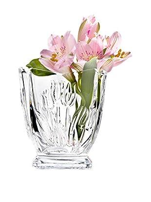 Studio Silversmiths Crystal Tulip Bud Vase