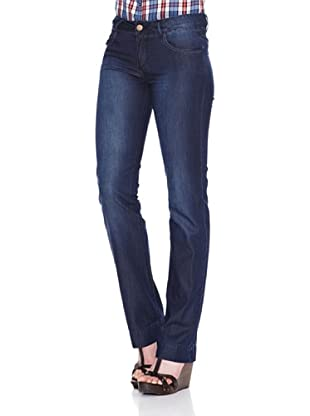 Carrera Jeans Pantalón Denim Leggero Regular (Azul Medio)