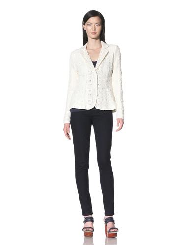 Cullen Women's Soft Lace Jacket (Ivory)