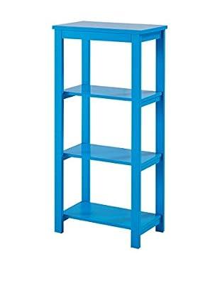 Regal blau 50 x 30 x 105 cm