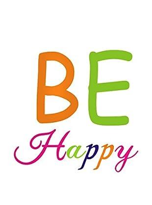 LO+DEMODA Wandtattoo Be Happy