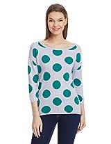 United Colors Of Benetton Women's Polka Dot T-Shirt