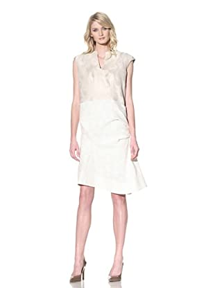 MARNI Women's Sleeveless Jacquard Dress (Alabaster)