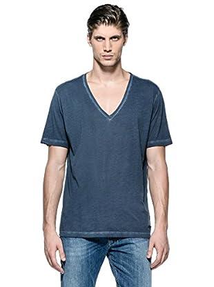 Diesel Camiseta T-Barham-R (Azul)