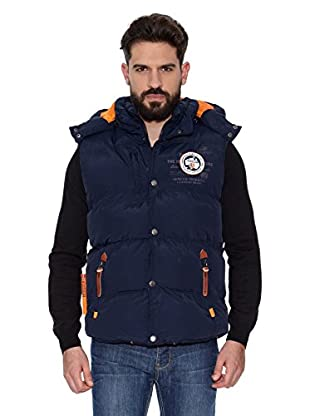 Geographical Norway Chaleco Veron Men 5 Repeat (Azul marino / Naranja)
