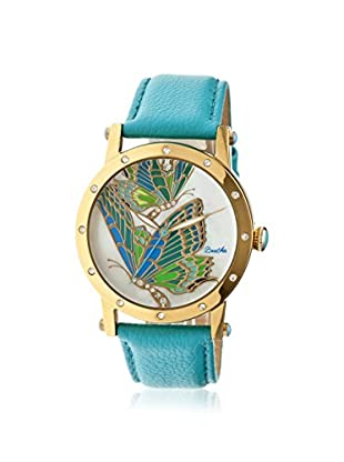 Bertha Women's BR4302 Isabella Turquoise/Multi Leather Watch