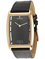 Titan Edge Analog Black Dial Men's Watch - NE1575WL01