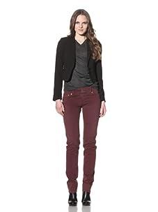 Red Engine Women's Cinder Straight Leg Jeans (Wine)