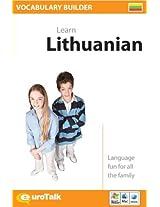 Vocabulary Builder Lithuanian