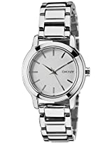 DKNY Analog White Dial Women's Watch - NY2209I