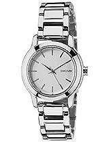 DKNY Analog White Dial Women's Watch - NY2209I