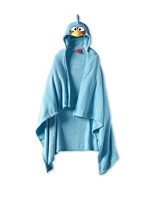 AME  Blue Bird Hooded Blanket (Big Kid)