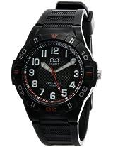Q&Q Analog Black Dial Men's Watch - GW36J001Y