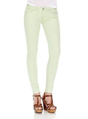 Springfield Pantalón Bs.De909B.Slim To (Verde Claro)
