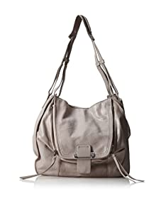Kooba Zoey Shoulder Bag (Grey Snake)