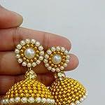 Silk Thread Jhumka