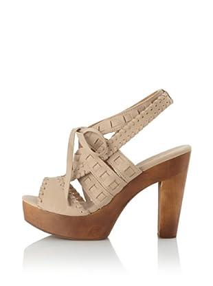 Fiel Women's Makira Woven Strap Heel (Bone)
