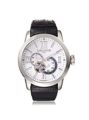 Lancaster Men's OLA0363BN Narciso Black/White Stainless Steel Watch