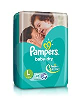 Pampers Large Size Diapers (38 Count)