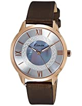Kimio Analog Silver Dial Women's Watch - KW528M-RG0707