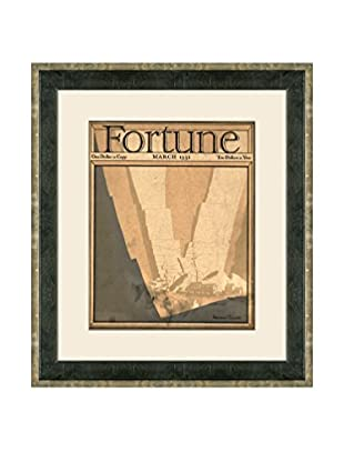 Vintage March 1931 Fortune Magazine Cover, Beige, 21