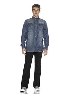 Cult Of Individuality Men's Denim Shirt (Temple)