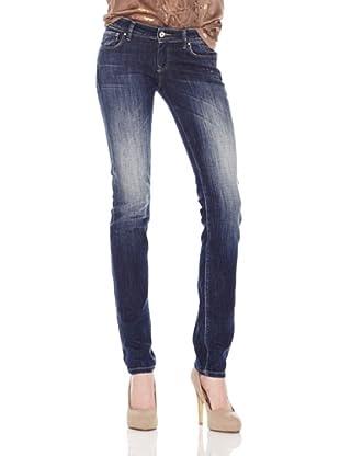Salsa Jeans Aplicación Tachuelas (Azul)