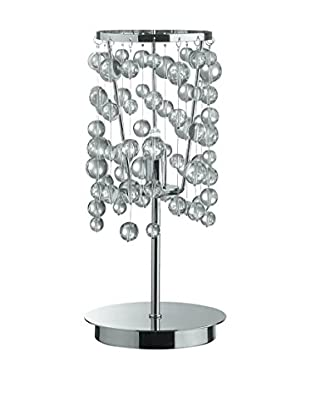 Evergreen Lights Tischlampe chrom