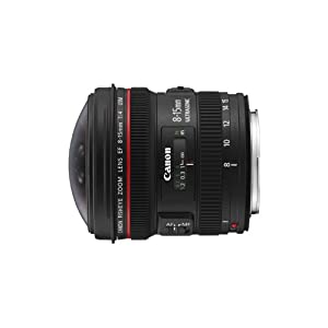 Canon EFレンズ EF8-15mm F4L フィッシュアイ USM ズームレンズ 超広角