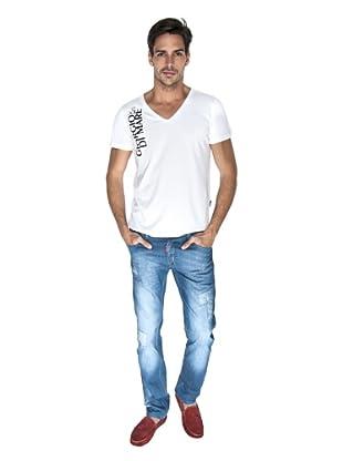 Giorgio Di Mare Camiseta Taggart (Blanco)