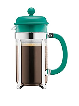 Bodum Cafetera French Press 8 Cups 1 L Turquesa