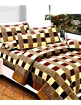 SAI ARPAN ATTRACTIVE DOUBLE BED SHEET WITH PILLOW COVERS 1164