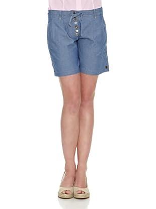 La Martina Short Bolsillos (Azul)