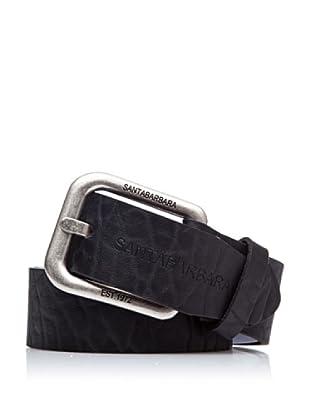 Santa Barbara Cinturón Simple (Negro)