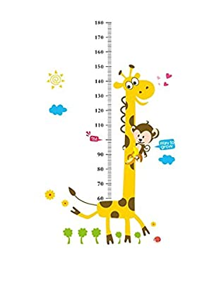 LO+DEMODA Vinilo Decorativo Giraffe Multicolor