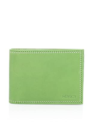 Hlaska Men's 7.1 Leather Wallet (Cut Grass)