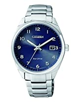 Citizen Analog Blue Dial Unisex Watch - EO1170-51L